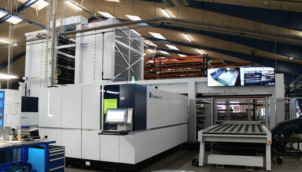 TruLaser 3030 laserskærer maskine