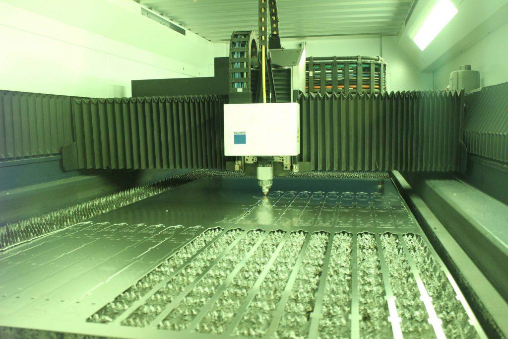 Laserskæreren i en laserskærer maskine